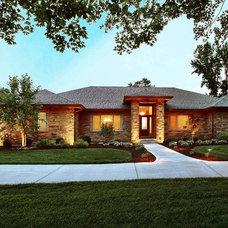 Contemporary Exterior by Hibbs Homes, LLC