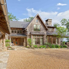 Rustic Exterior by Platt Architecture, PA