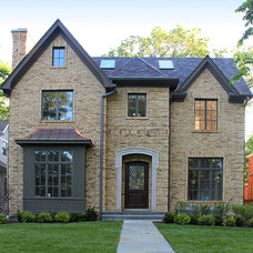 Traditional Exterior by Colonial Brick