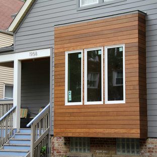 Chicago, IL Aged Pewter Hardie Exterior Siding