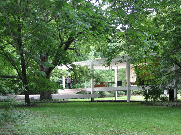 Modern Exterior Chicago mid-century - Farnsworth House