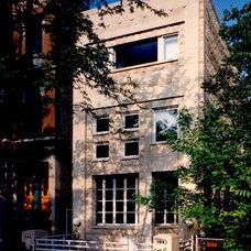 Modern Exterior by David Fleener Architects, Inc.