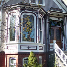 Traditional Exterior by Painting in Partnership, Inc.