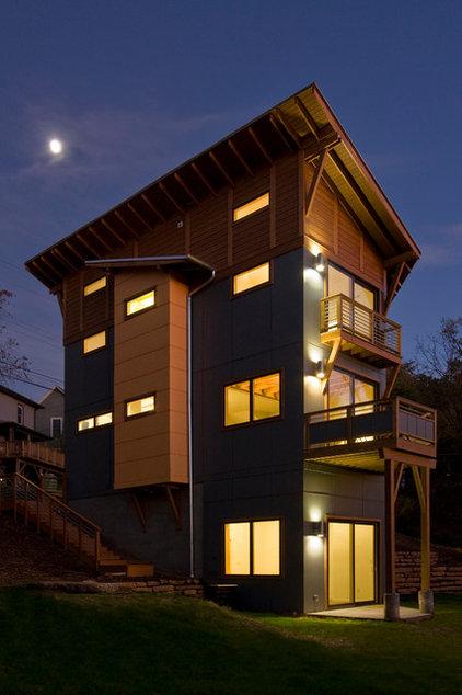 Contemporary Exterior by Daryl S. Rantis Architect