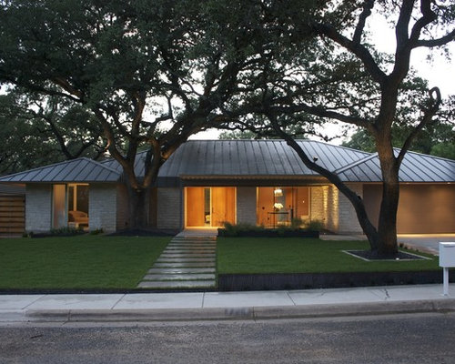 Metal hip roof design ideas remodel pictures houzz for Houzz exterior