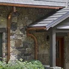 Rustic Exterior by The Berry Group