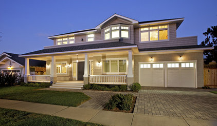 Traditional Exterior by Christian Rice Architects, Inc.