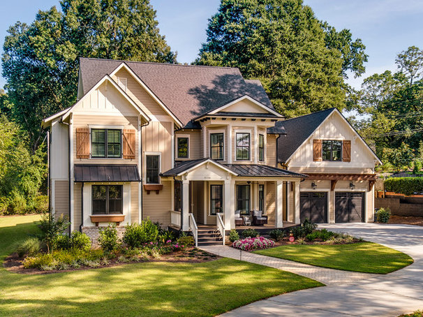 Farmhouse Exterior by New Old, LLC