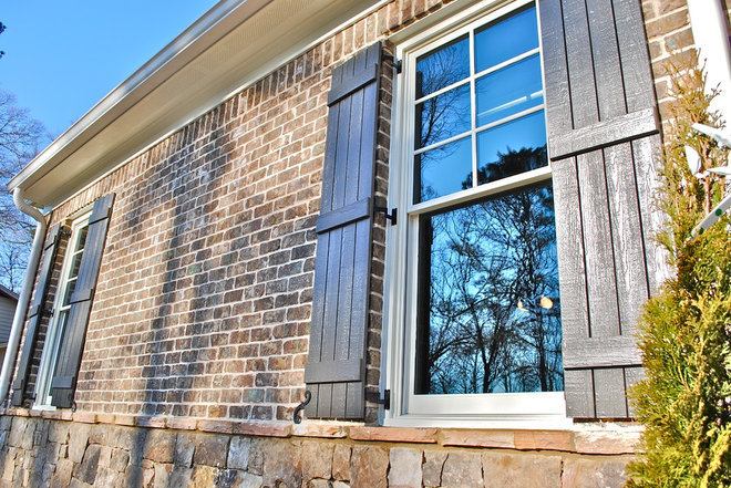Traditional Exterior by Berry Design Build