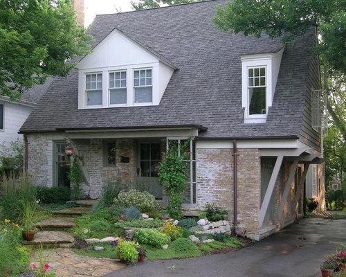 Lime wash brick exterior design ideas pictures remodel decor - Lime wash paint exterior design ...