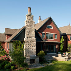 Traditional Exterior by Cynthia Williams Architect