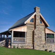 Traditional Exterior by Country Mountain Homes Llc