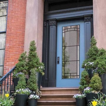 City Home Front Door Inspiration | Entryway Ideas