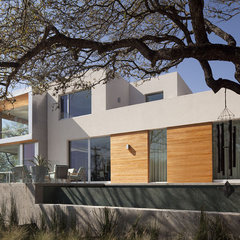 modern exterior by Dick Clark Architecture