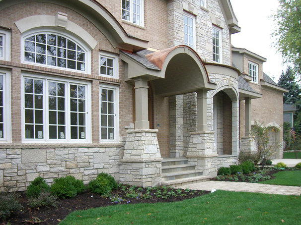 Traditional Exterior by ArcCreative Ltd.