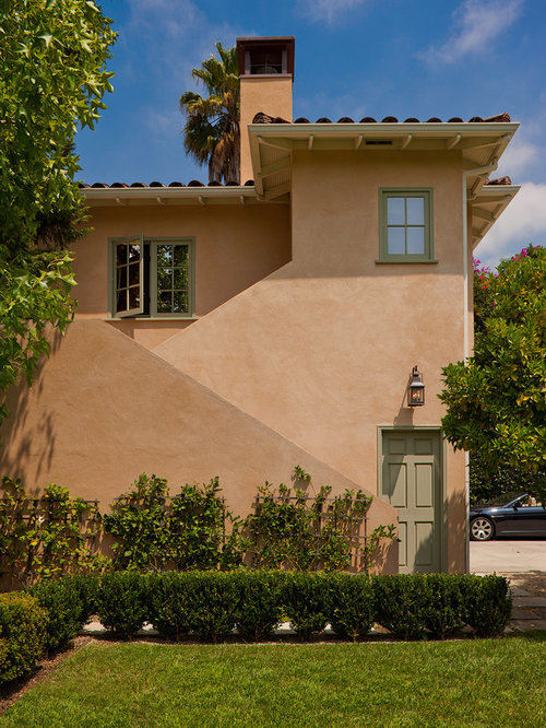Painted Stucco Houzz