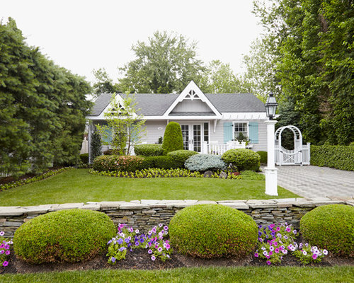 Shabby Chic Style Exterior Design Ideas Remodels Photos