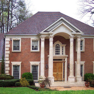Classic Federal Style Atlanta Estate with Temple of the Winds Column Order
