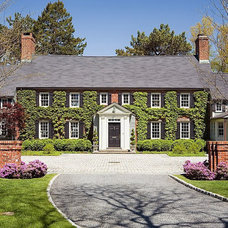 Traditional Exterior Classic house with ivy