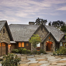 Traditional Exterior by Tyner Construction Co Inc