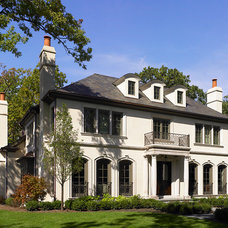 Traditional Exterior by Reynolds Architecture- Design & Construction