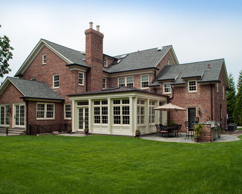 Classic Scarsdale Brick Colonial