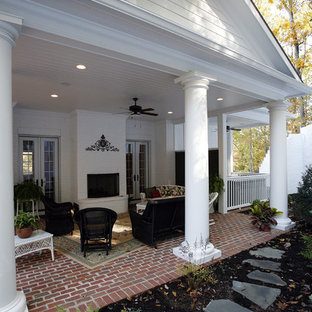 Classical covered patio