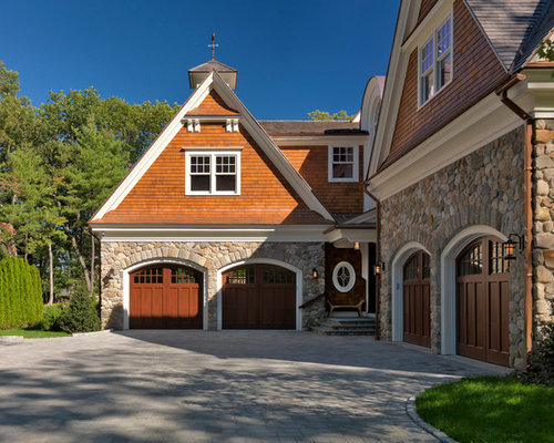 L Shaped Garage Houzz