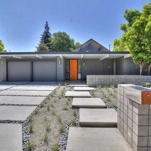 Example of a 1950s exterior home design in San Francisco