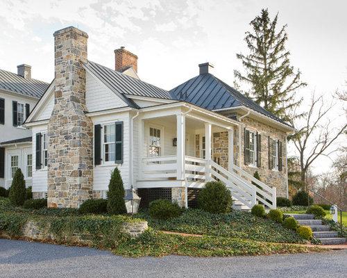 Stone Exterior Home Ideas & Design Photos | Houzz