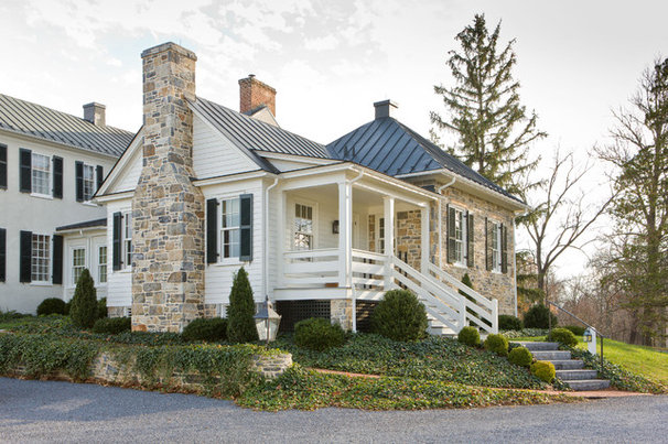 Traditional Exterior by Neumann Lewis Buchanan Architects