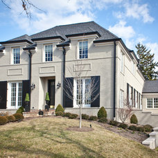 Traditional Exterior by Michael Lauren Development LLC