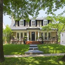 Traditional Exterior by Michael Lauren Development LLC