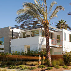Contemporary Exterior by Hill Construction Company