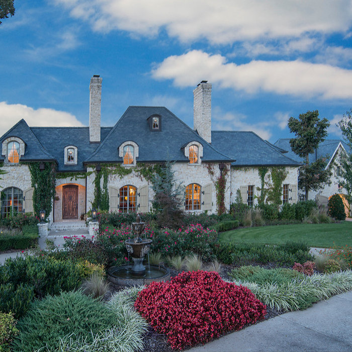 Clear Creek French Country Custom Home