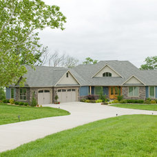 Traditional Exterior by Prince Custom Homes Inc.