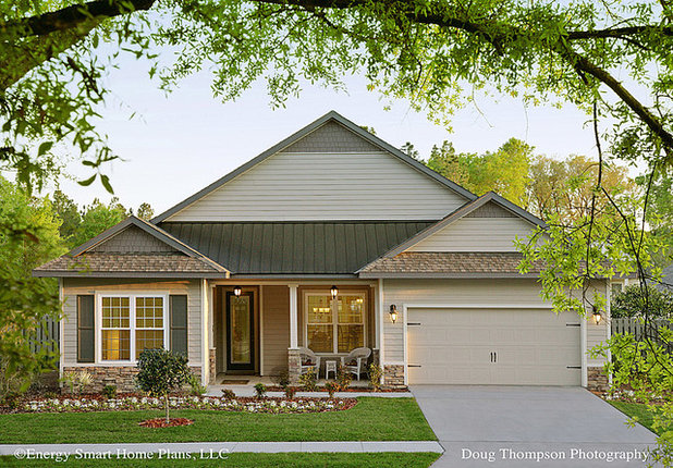 Traditional Exterior by Energy Smart Home Plans