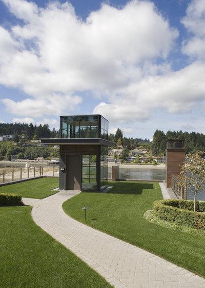 Contemporary Exterior by Scott Allen Architecture