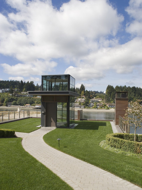 Willoughby Way By Charles Cunniffe Architects: Glass Elevator