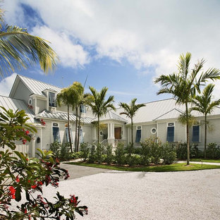 Island style exterior home photo in Tampa
