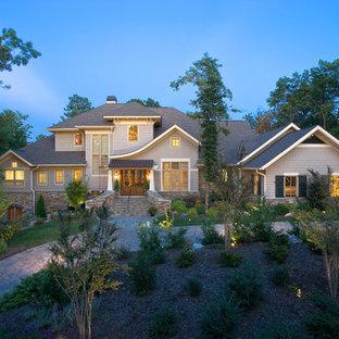 Idéer för ett klassiskt hus, med två våningar