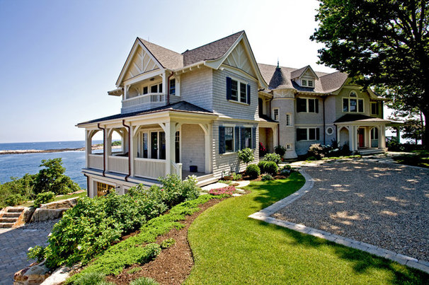 Traditional Exterior by Windover Construction