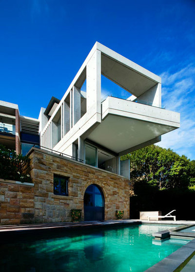 Modern Exterior by Louise Nettleton Architects
