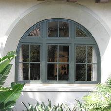 Mediterranean Exterior by Window Concepts Inc.