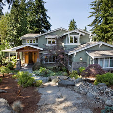 Traditional Exterior by Stackman Custom Homes Inc.