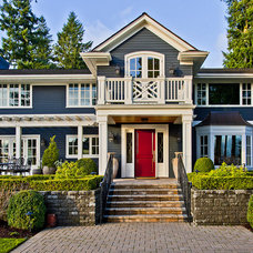 Traditional Exterior by Andrea Braund Home Staging & Design