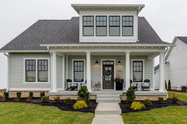 Transitional Exterior by Old Town Design Group