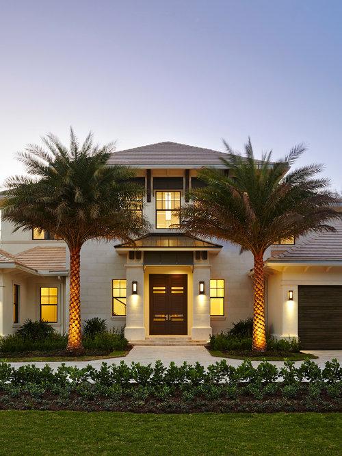 Exterior Remodel: Tropical Exterior Design Ideas, Remodels & Photos