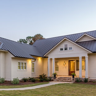 Inspiration for a country exterior home remodel in San Francisco