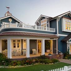 Beach Style Exterior by Flagg Coastal Homes
